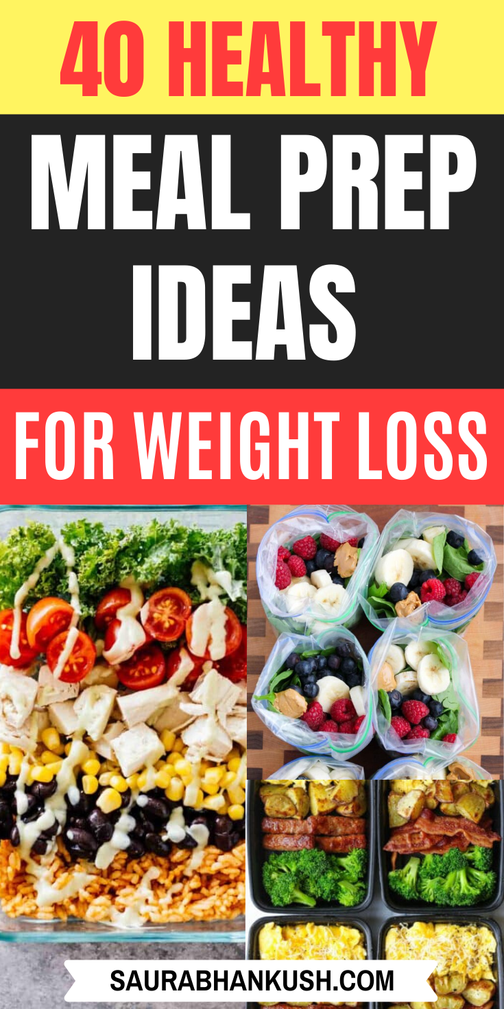 40+ Healthy Meal Prep Ideas to Simplify Your Life -   18 meal prep recipes for weight loss keto ideas