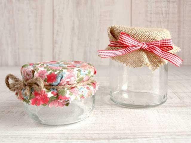 C mo decorar tarros de mermelada cosas lindas para hacer for Regalos navidenos caseros