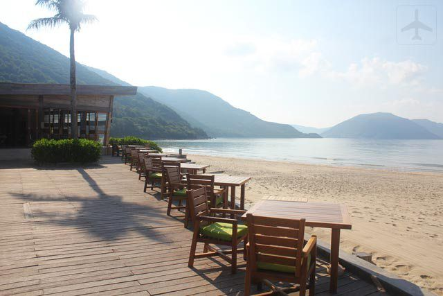 Restaurant by the beach with a scenery that one would never get tired of.  http://thetlist.net/2016/02/24/six-senses-con-dao-an-unspoiled-paradise/