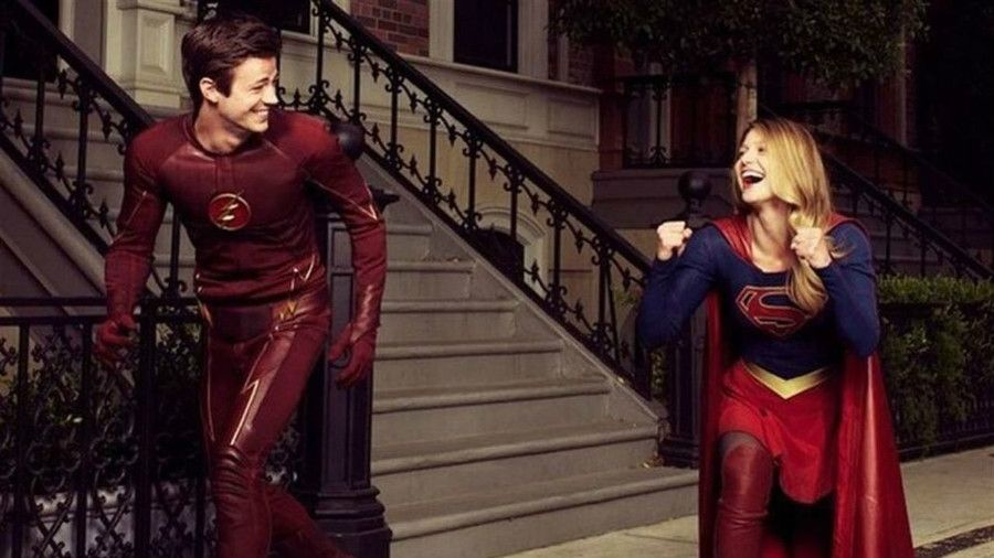 """The upcoming CW crossover between """"The Flash"""" and """"Supergirl"""" is…"""