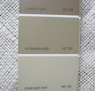 Benjamin Moore Northampton Putty Hc 89 This Is A Warm Color With Tiny Hint