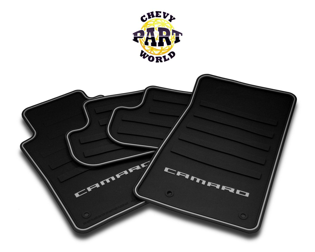 camaro mats product parts black ss floor floors chevrolet