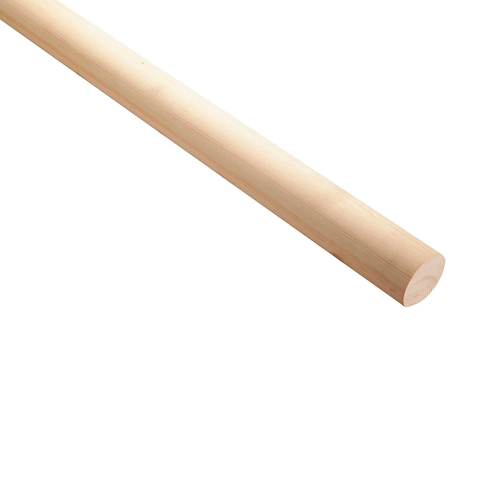 Best Pine Wall Mounted Handrail L 3600Mm Departments Diy 400 x 300