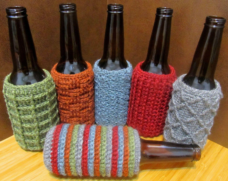 Beer Bottle Cozy/Koozie-6 Pack Crochet Pattern (6.00 USD) by ...