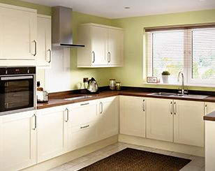 Homebase cavell cream house refurb pinterest blinds for Home base kitchen units