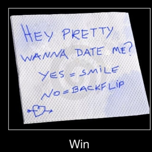 hahaha i would be going on that date for sure.