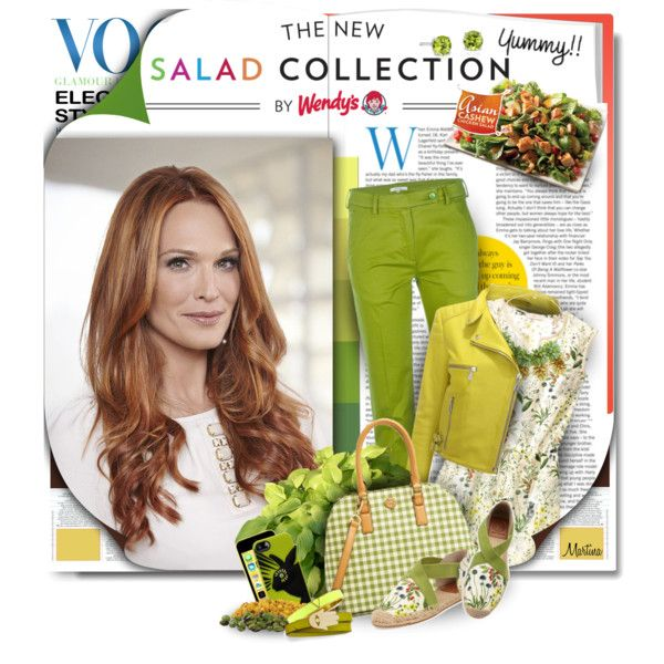 (Mmm)onochromatic Looks & Wendy's® #NewSaladCollection