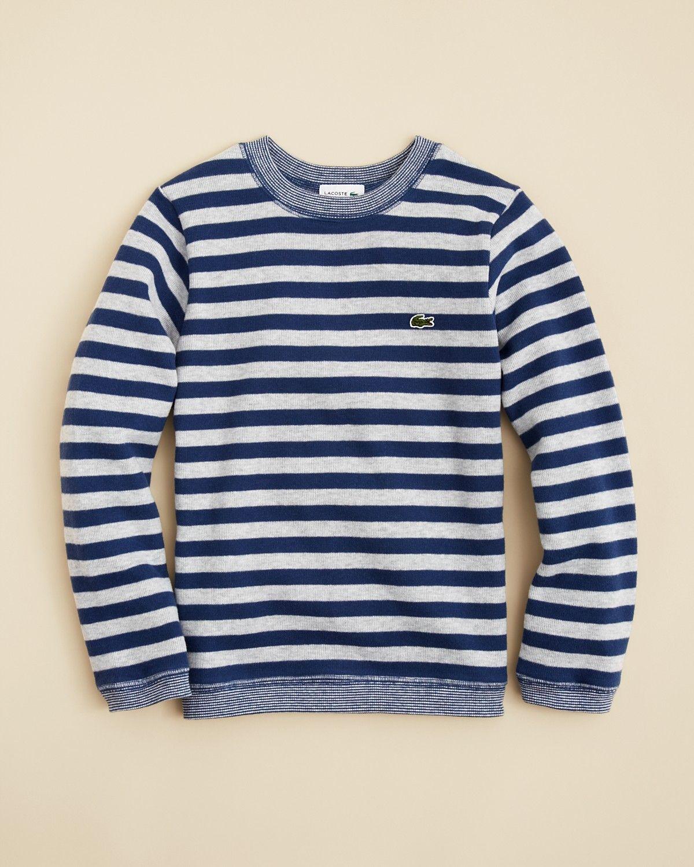 6d6dce25d69 Lacoste Boys' Stripe Sweater - Sizes 4-16 | Bloomingdale's | Boy's ...