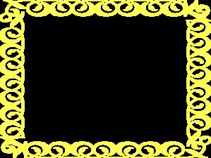 Free Yellow Border Clip Art Yellow Border Frame Clip Art Vector Clip Art Online Royalty Free Clip Art Frame Clipart Clip Art Borders