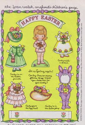 Bonecas de Papel: Joan Walsh