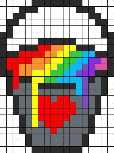 Hehe Buckets P Pixel Art Grid Pixel Art Pixel Art Templates