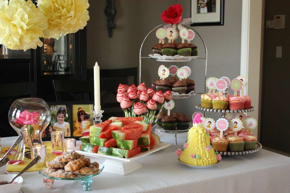 Belle Birthday Decorations Princess Belle Party Birthday Party Ideas  Princess Belle Party