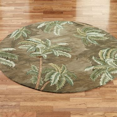 Palm Trees Round Rugs Palms Trees And Rugs