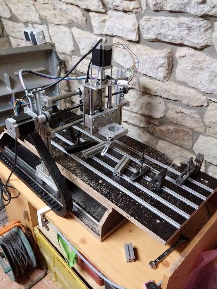 CNC Portalfräse 3D Drucker Beton traue dich! Cnc