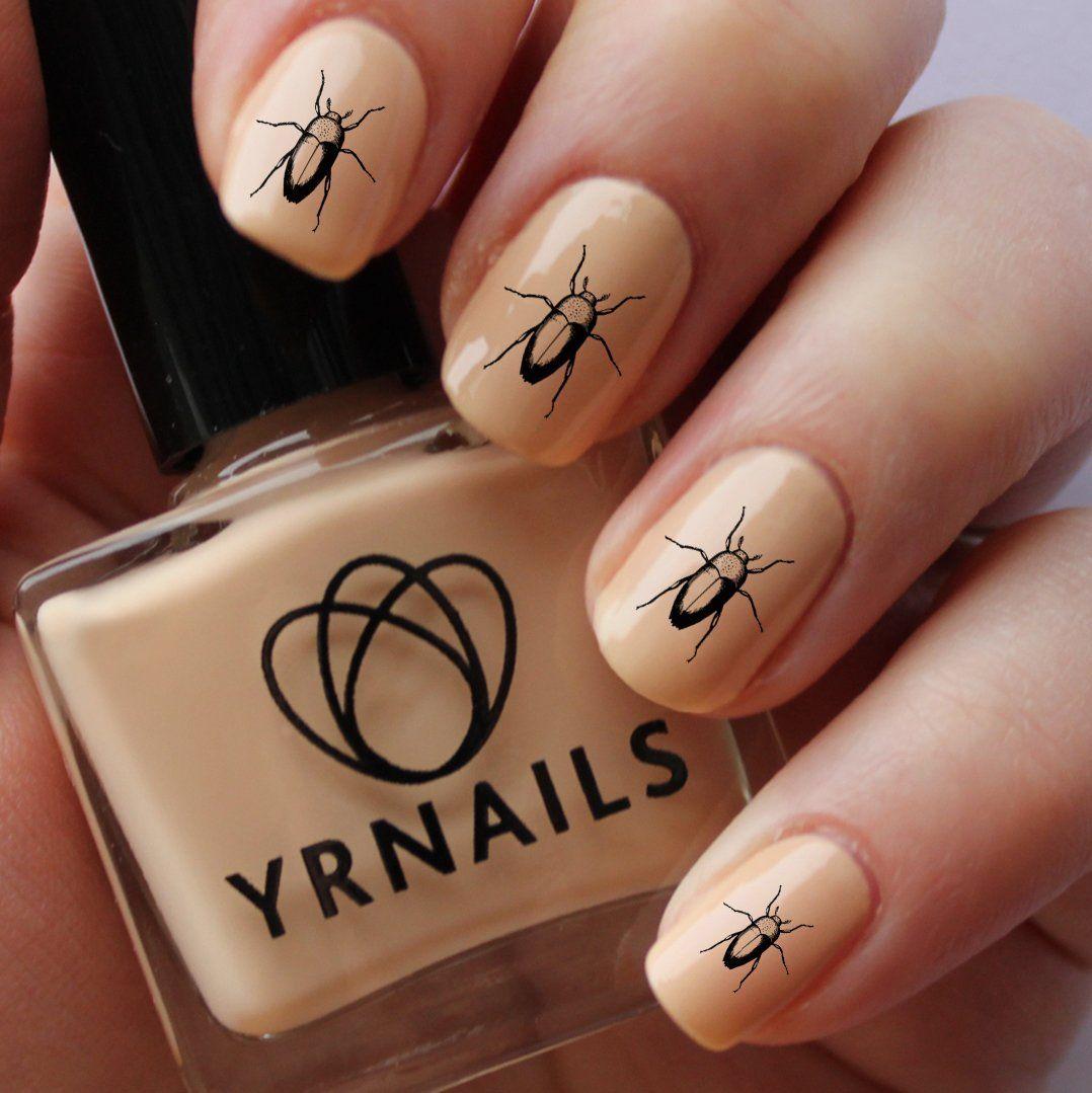 Beatle Nail Decals by YRNails: Amazon.co.uk: Beauty | YRNails.com ...