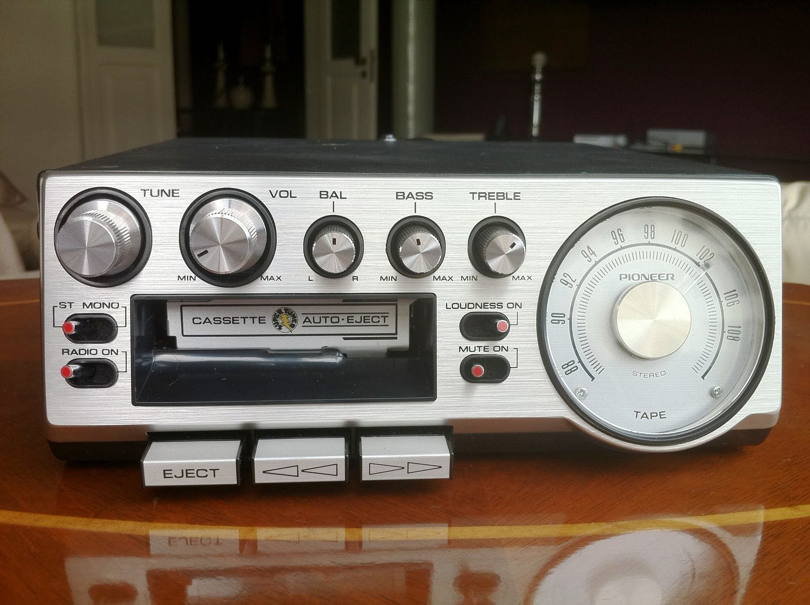 pioneer kp 500 car stereo 1976 1970 39 s electronics and. Black Bedroom Furniture Sets. Home Design Ideas