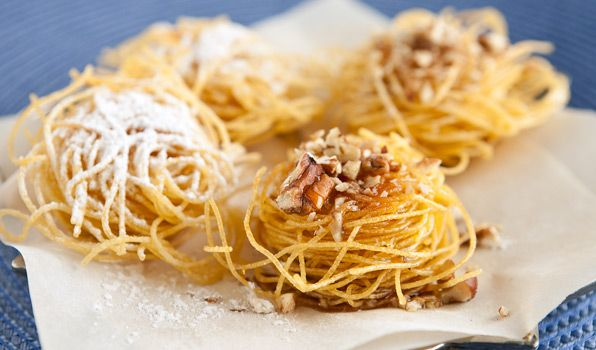 Angel hair pasta dessert recipes