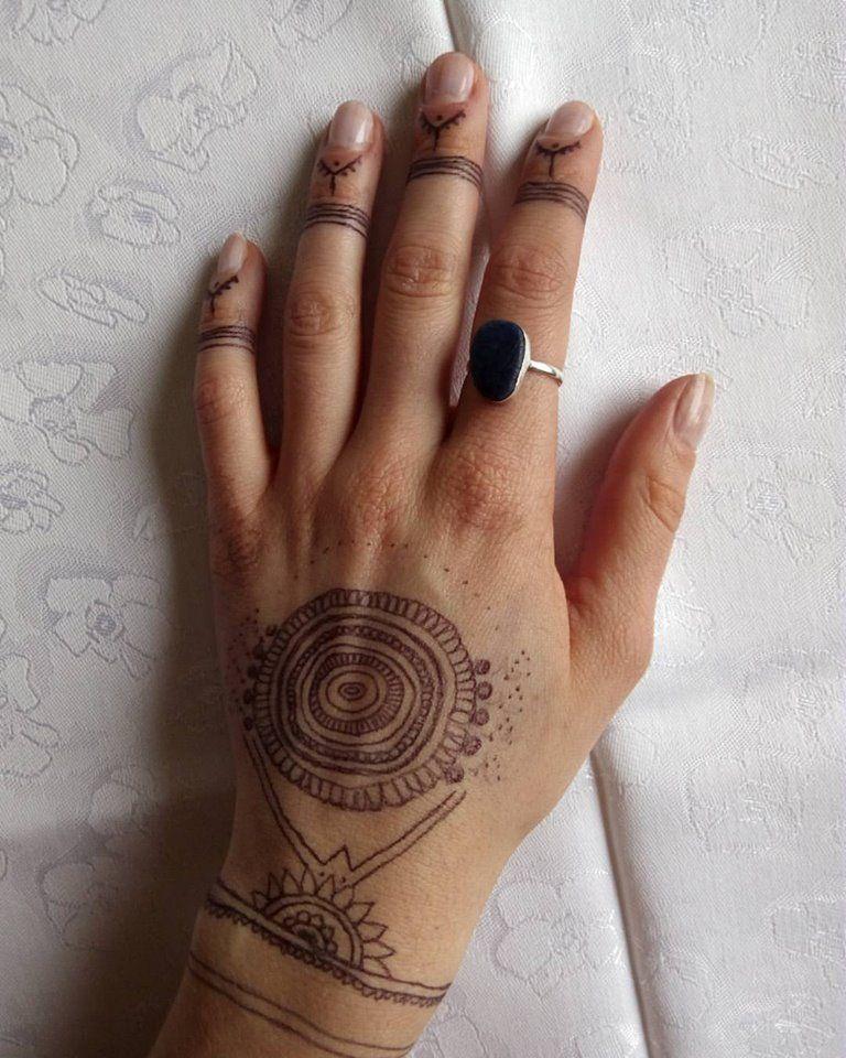 209ab320bdccb 59 Inspiring Bohemian Tattoo Ideas That Signify A Sense Of Spirituality.  boho hand tattoo