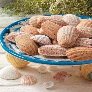 Mini madeleine cookies recipe