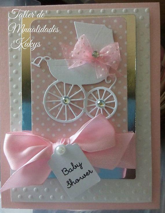 Invitaciones Baby Shower Tarjetas De Bebé Tarjetas De