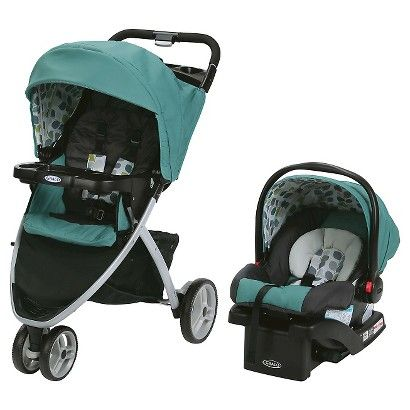 graco s pace click connect travel system features a three wheel stroller with a one hand fold. Black Bedroom Furniture Sets. Home Design Ideas