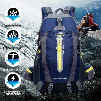 970aba2eb1 40L Water Resistant Travel Backpack Camp Hike Laptop Daypack Trekking Climb  Back Bags For Men Women - intl