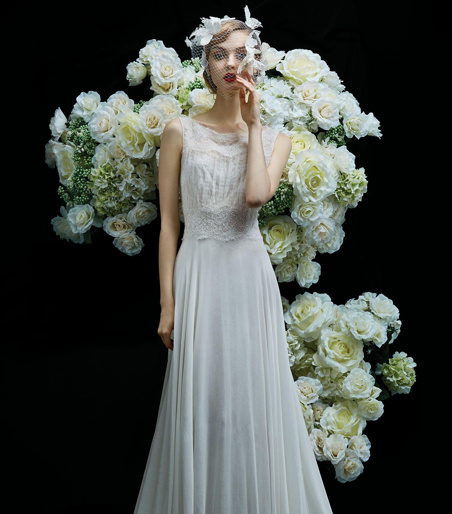 PEONY, wedding dress from Annasul Y. 2017 Bridal Collection. www ...