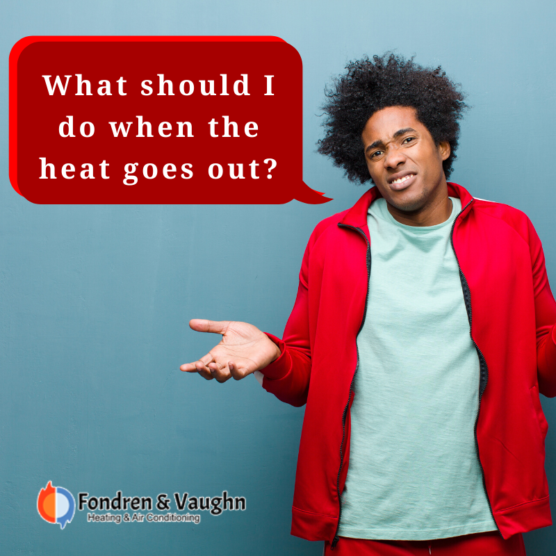 When the heat goes out 👇 📌 Make sure that your furnace is
