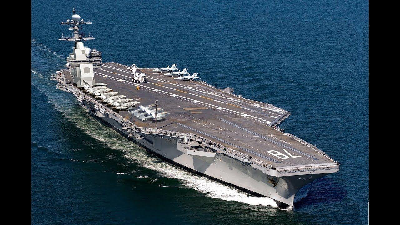 Us Navy Super Carrier Uss Gerald R Ford Cvn 78 Flight Ops In 2020 Aircraft Carrier Navy Aircraft Carrier Navy Carriers