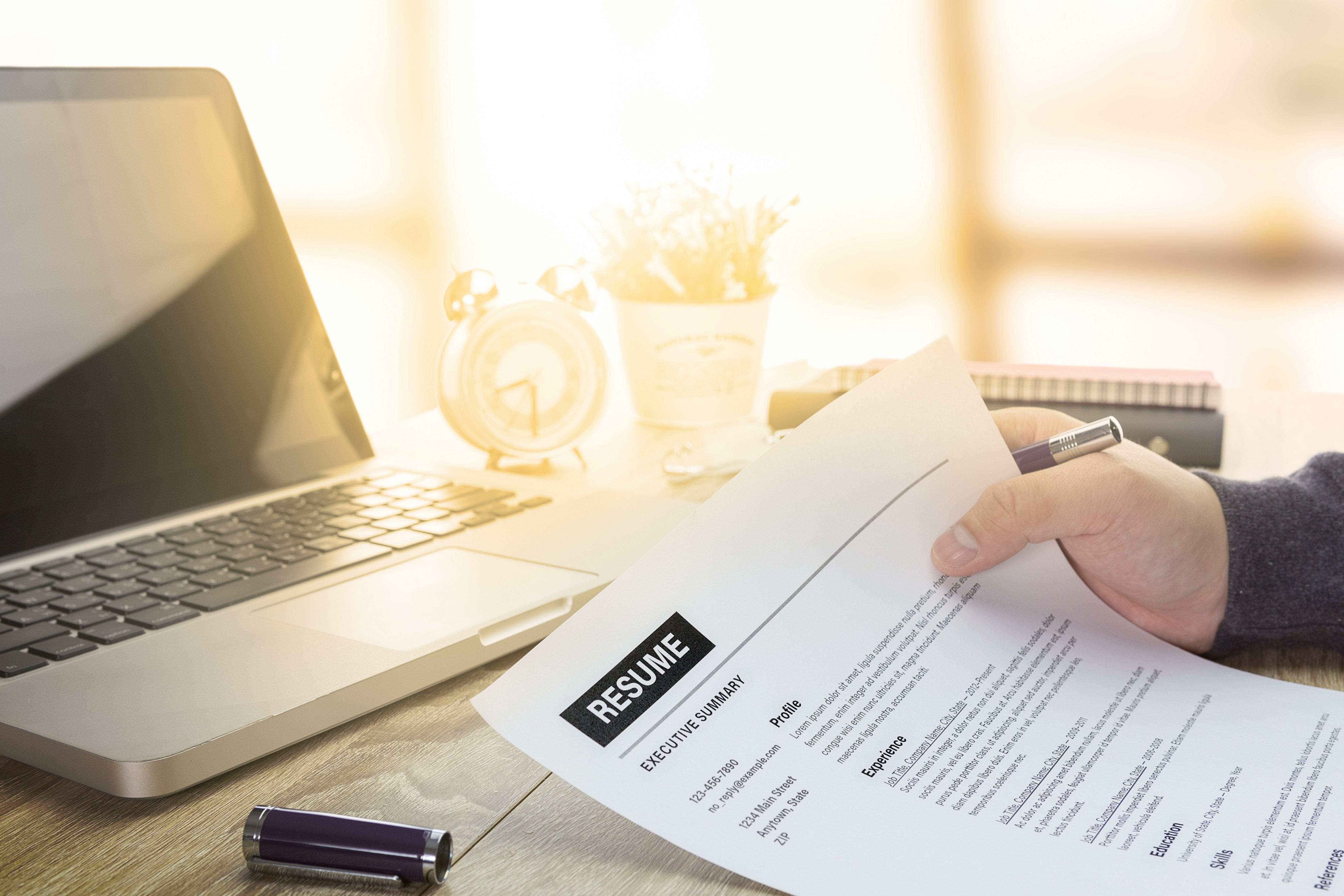Get to Work How to Customize Your Resume and Cover