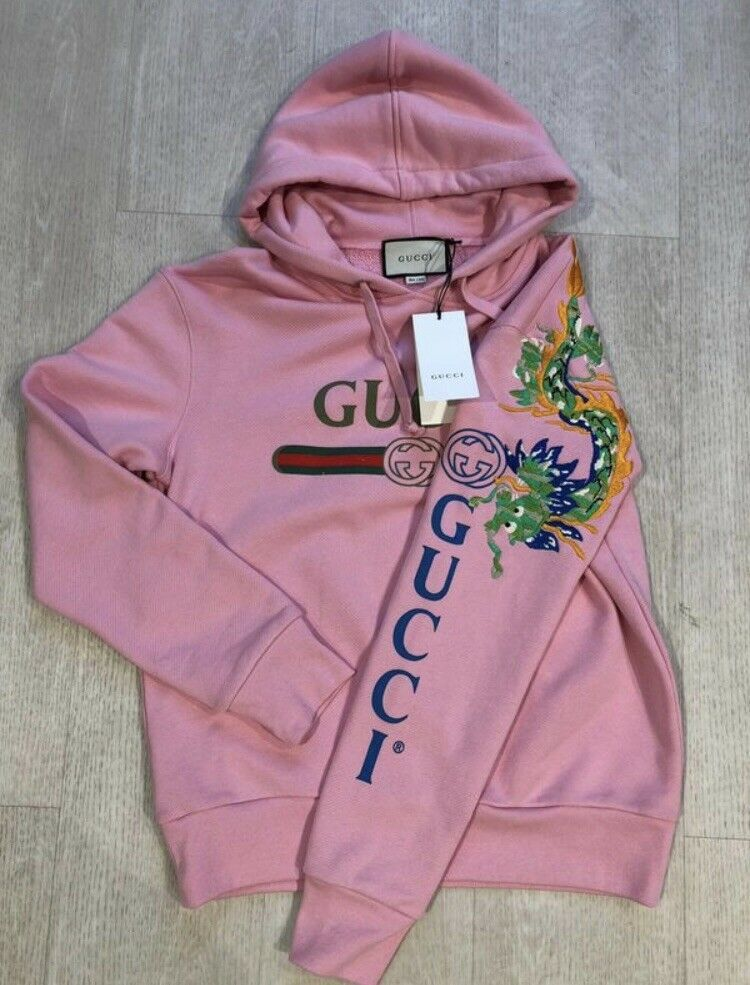 latest design first rate latest Gucci Hoodie Pink Dragon #fashion #clothing #shoes ...