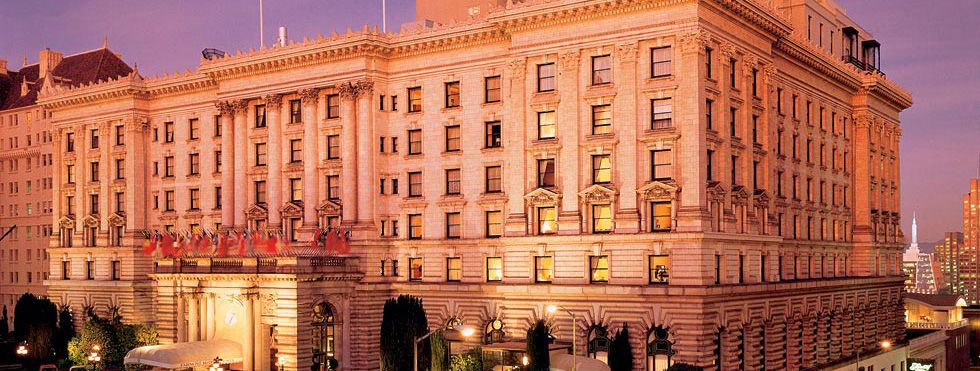 The Fairmont San Francisco Hotel Presents An Awe Inspiring Picture Of Historic Grandeur Luxury Atop N
