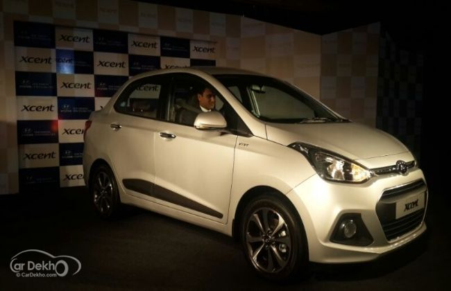 Hyundai Xcent Aka Grand I10 Sedan Introduced