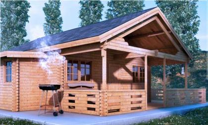 Una Casa De Madera Prefabricada Por Un Precio Muy Barato Si Es