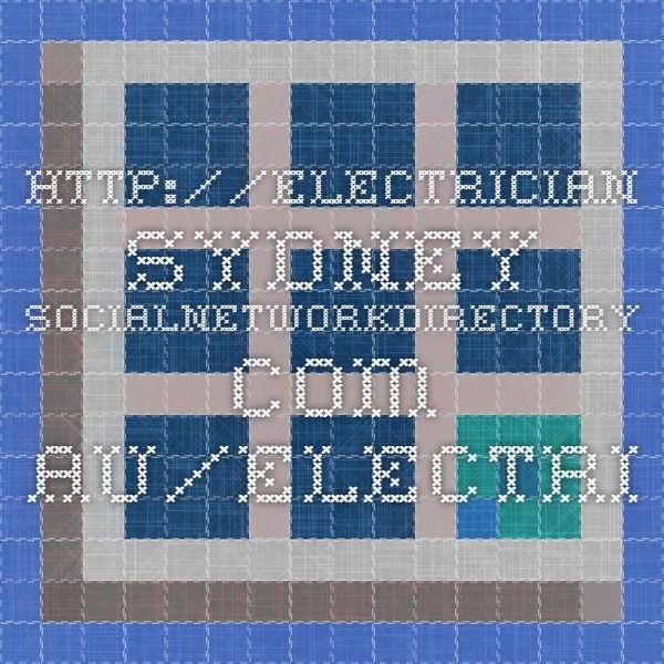 http://electrician-sydney.socialnetworkdirectory.com.au/electrician-bondi