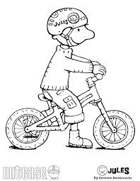 afbeeldingsresultaat voor jules fiets thema kleurplaten