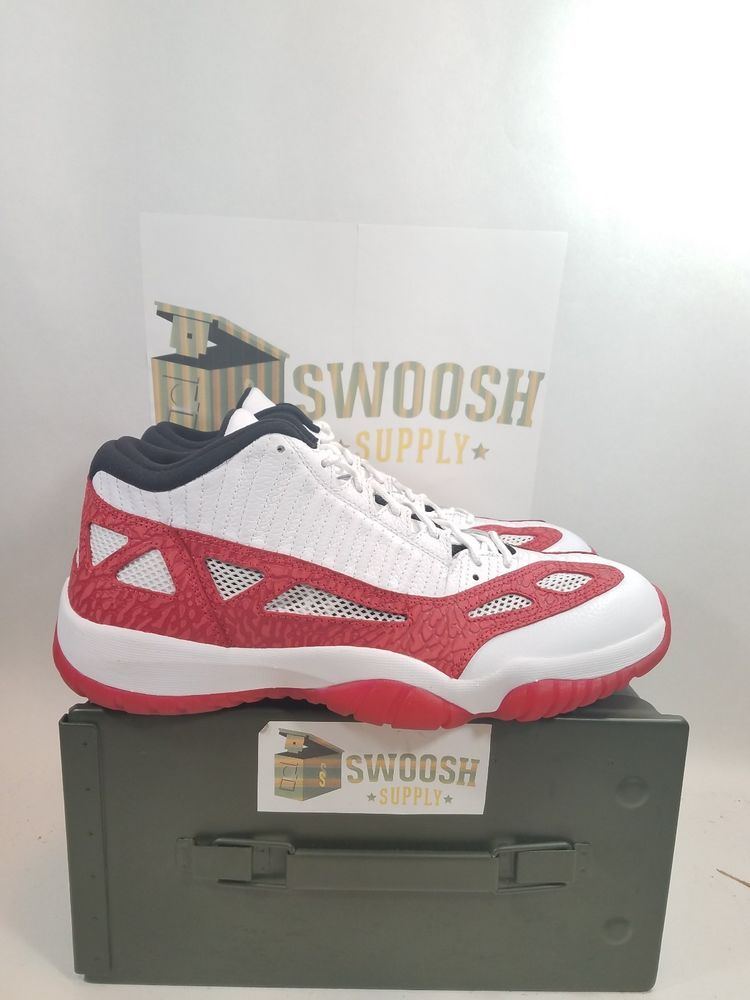 6e994be0a913 Details about 2017 Nike Air Jordan 11 XI Retro Low IE SZ 11 White ...