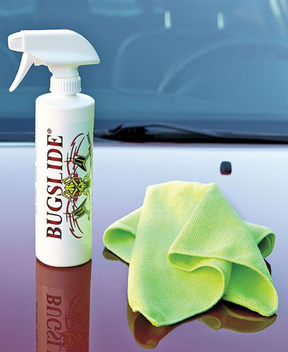 BUGSLIDE® CAR CLEANER AND BUG REMOVER KIT