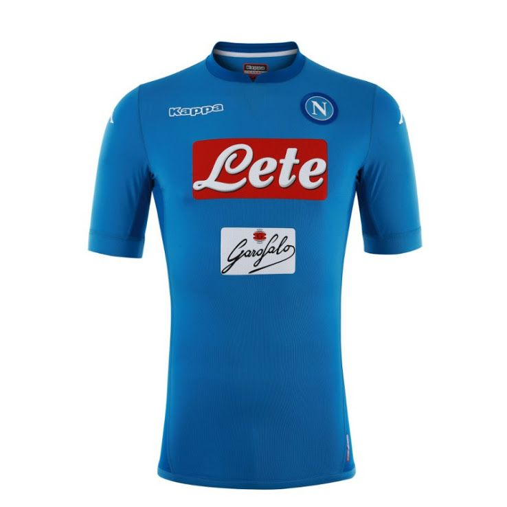 Napoli 17-18 Home Kit Released - Footy Headlines