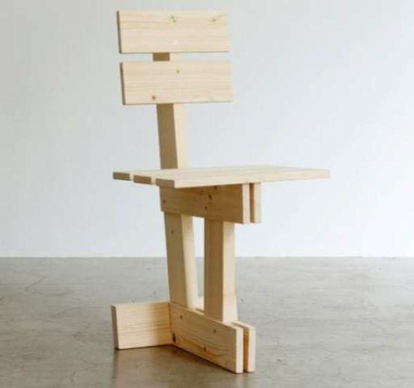 Möbel aus holz selber machen  holz selber machen diy möbel stuhl | Stühle & Sitzen | Pinterest ...