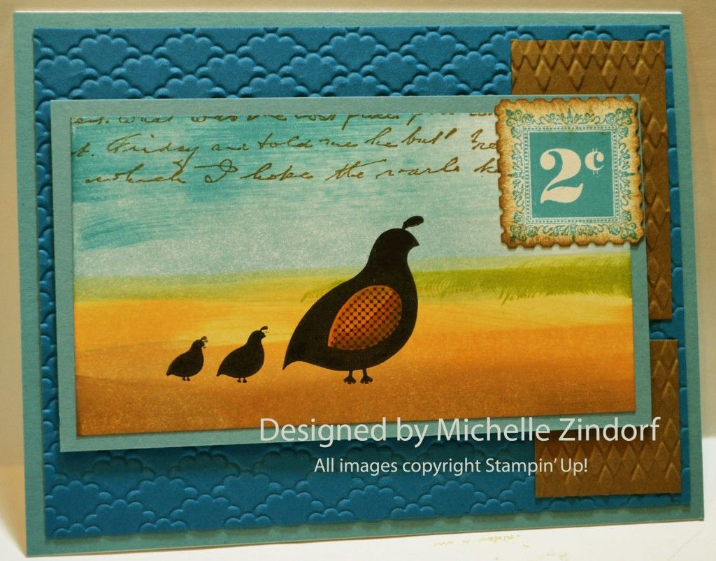 Flock Together – Stampin' Up! Card Tutorial #588 |