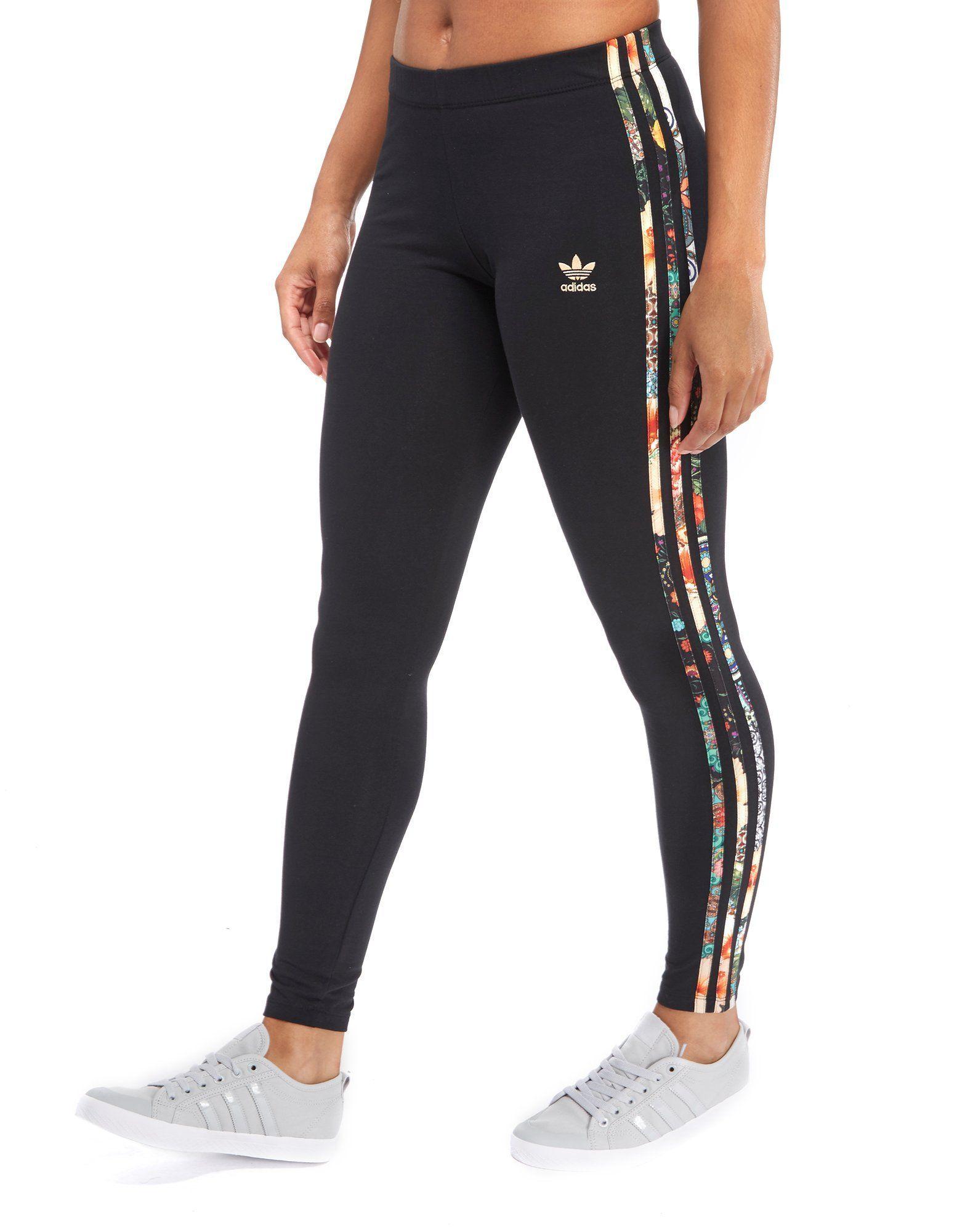 adidas Originals 3 Stripes Leggings Farm Pack Shop online