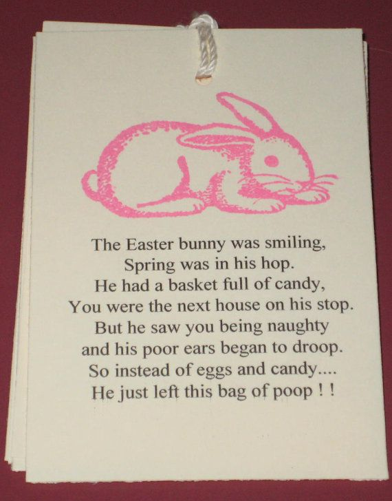 6 gift tags easter bunny poop by judyscrafts on etsy 599 6 gift tags easter bunny poop by judyscrafts on etsy 599 negle Image collections