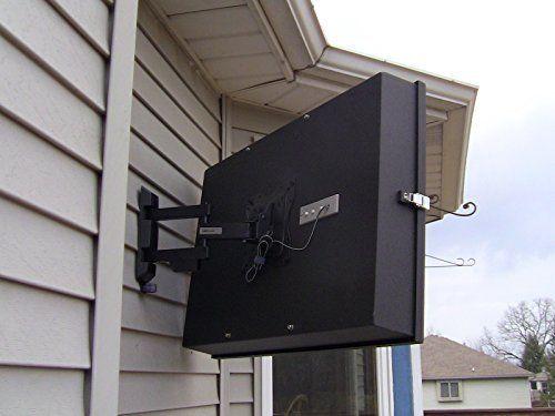 Rain Case Small Al100 Outdoor Tv Enclosure Fits 32 And Smaller