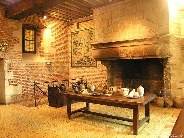 Amboise Le Clos Luce Cuisine Amboise Chateaux Interiors French Castles