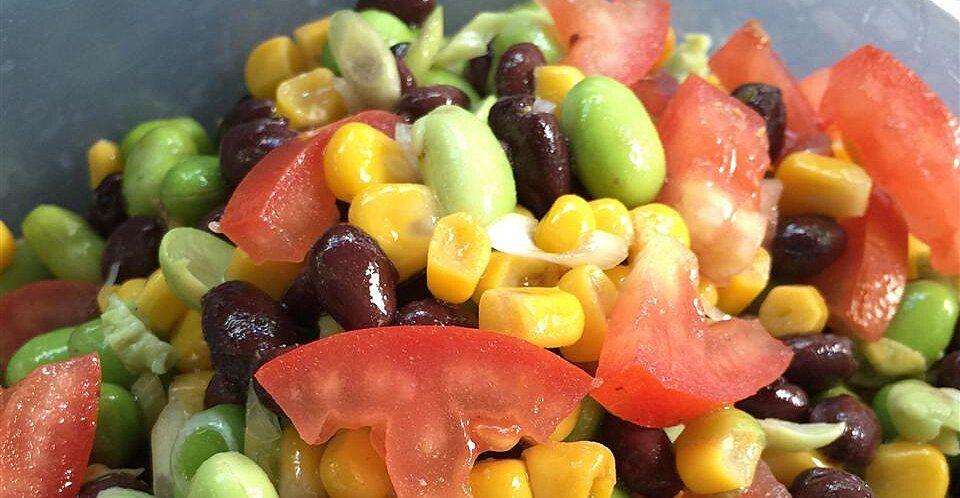 Healthy Garden Salad Recipe Healthy Garden Salad Recipe Homemade Salad Dressing