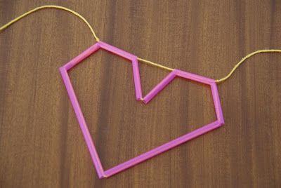 heart straw himelli diy valentines day