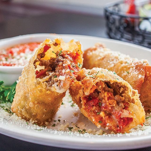 Neighborhood Tavern Cpdining Visits Goodfellas In Swissvale Photo Of Italian Eggrolls By Vanessasong Check Out Our Full Food And Drink Mexican Soup Food