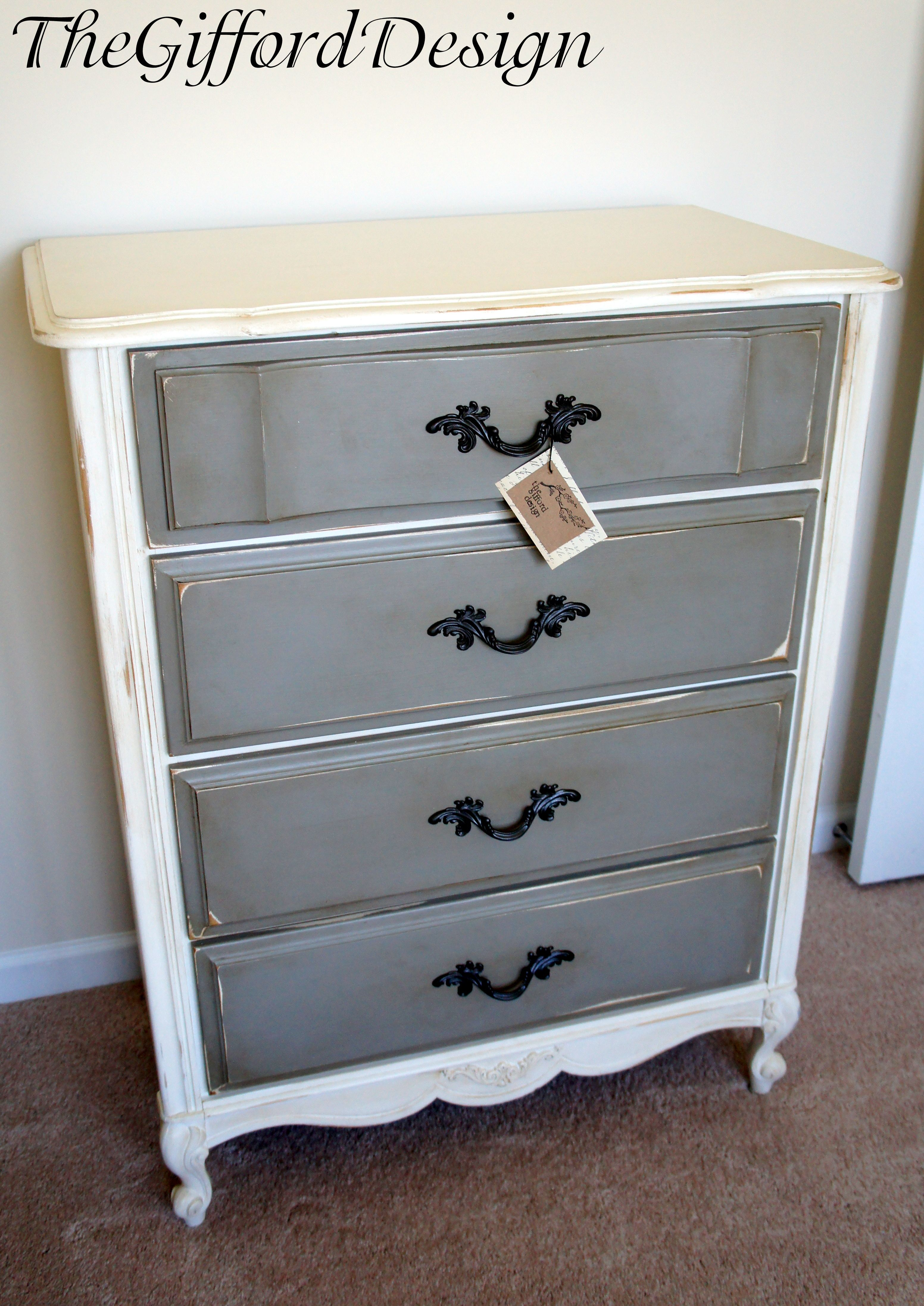 C moda blanca gris chalk paint pinterest c moda blanca c moda y gris - Comoda blanca ...