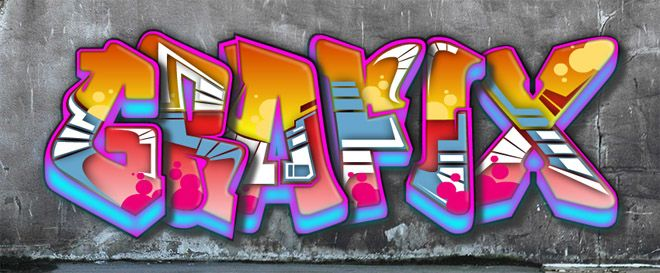 Grafix graffitis graffiti art plastique et art - Lettre graffiti modele ...